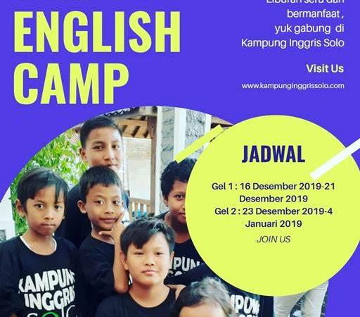 Program English Camp di Kampung Inggris Solo